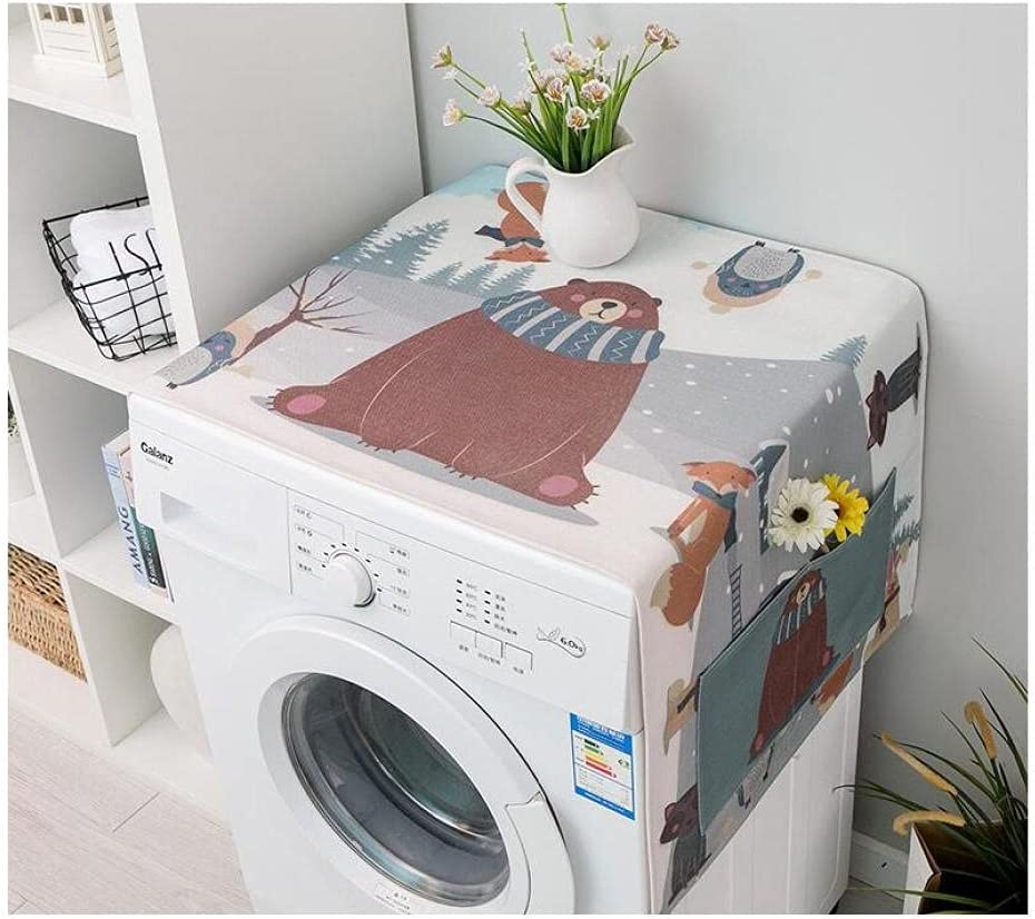 Washer and Dryer Top Cheap SALE Start Covers Anti Refrigerator Dust Fridge San Diego Mall C Slip