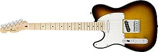 Fender Standard Telecaster Electric Guitar - Left Handed - Maple Fingerboard, Brown Sunburst