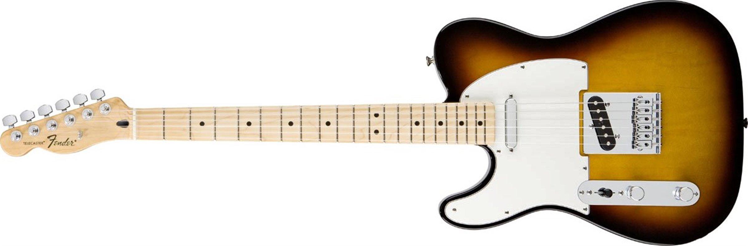 Cheap Fender Standard Telecaster Electric Guitar - Left Handed - Maple Fingerboard Brown Sunburst Black Friday & Cyber Monday 2019