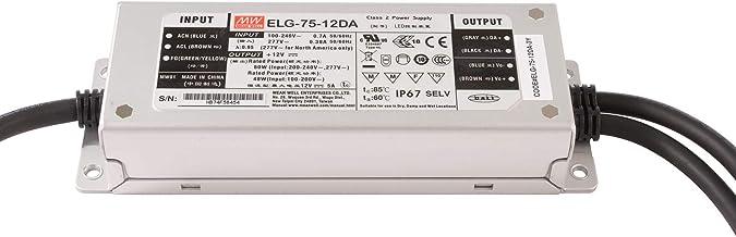 Voeding PRO 60W Mean Well ELG-75-12DA 12V DC 5A dimbaar DALI IP67 220V