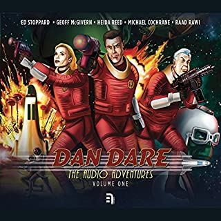 Dan Dare: The Audio Adventures - Volume 1     Voyage to Venus, The Red Moon Mystery & Marooned on Mercury              By:                                                                                                                                 Richard Kurti,                                                                                        Bev Doyle,                                                                                        James Swallow,                   and others                          Narrated by:                                                                                                                                 Ed Stoppard,                                                                                        Geoff McGivern,                                                                                        Heida Reed,                   and others                 Length: 3 hrs and 45 mins     Not rated yet     Overall 0.0