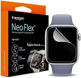 SPIGEN Neo Flex Screen Protector Designed for Apple Watch Series 6/5/4/SE (44mm) Clear Film [1-Pack] - Clear