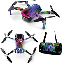$24 » MightySkins Skin for DJI Mavic Mini Portable Drone Quadcopter - Neon Splatter | Protective, Durable, and Unique Vinyl Decal wrap Cover | Easy to Apply, Remove, and Change Styles | Made in The USA