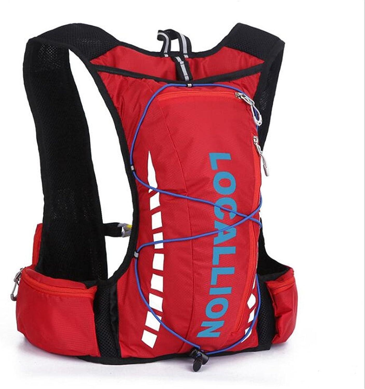 Wmshpeds Outdoor-Sporttasche 10L Mountainbike-Paket Reitrucksack Freizeit-Reisetasche