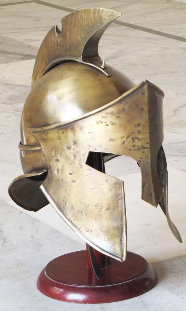 Medieval King Leonidas 300 película réplica coleccionable de Armor casco romano casco espartano: Amazon.es: Hogar
