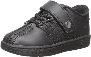K-Swiss Classic VN VLC Shoe, Black/Black, 6 M US Toddler