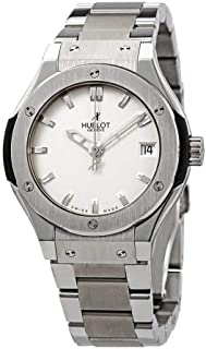 Hublot Automatic Titanium White Dial Ladies Watch 581.NX.2610.NX