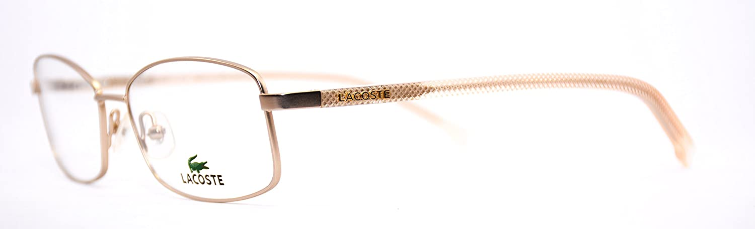 LACOSTE Eyeglasses L2163 714 Satin gold 53MM