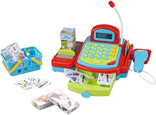 Playgo My Cash Register B/O, Multi-Colour, 3215, 22 Pieces
