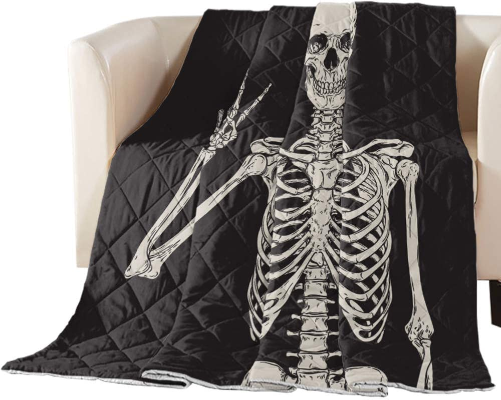 Popular brand in the world Polyster Comforter BreathableWarmth Bedding Fun Halloween Cover Dallas Mall