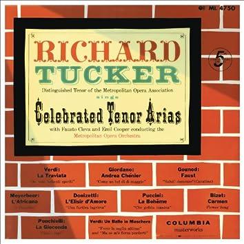 Richard Tucker - Celebrated Tenor Arias