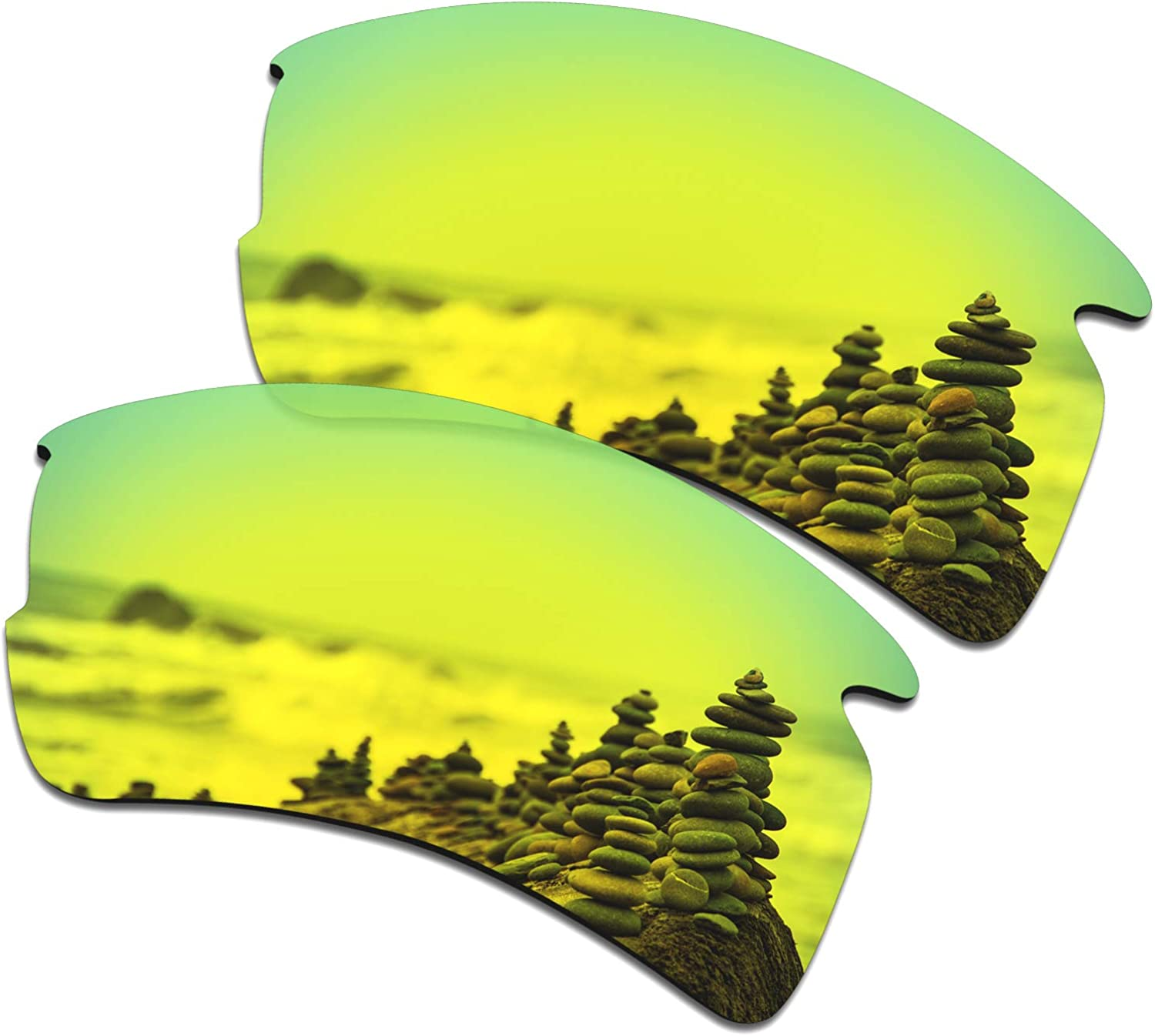 SmartVLT Ranking TOP16 Men's Replacement OFFicial mail order Lenses for OO9188 2.0 Flak XL Oakley