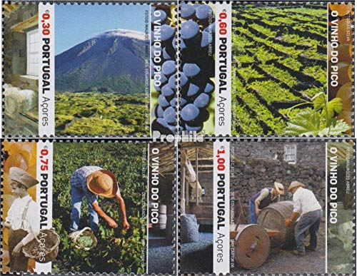 Portugal - Azoren Mi.-Aantal.: 523-526 (compleet.Kwestie.) 2006 Wijn (Postzegels voor verzamelaars)