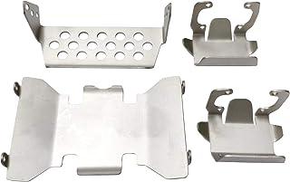 Iycorish Aleaci/óN de Aluminio Soporte de Parachoques Delantero Servo Soporte para 1//10 RC Crawler Axial SCX10 II AX90046 90046 90047 Pieza de Actualizaci/óN Negro