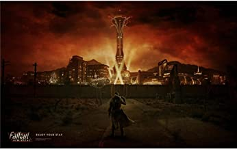 Fallout New Vegas Poster On Silk <96cm x 60cm, 38inch x 24inch> - 2E8A04