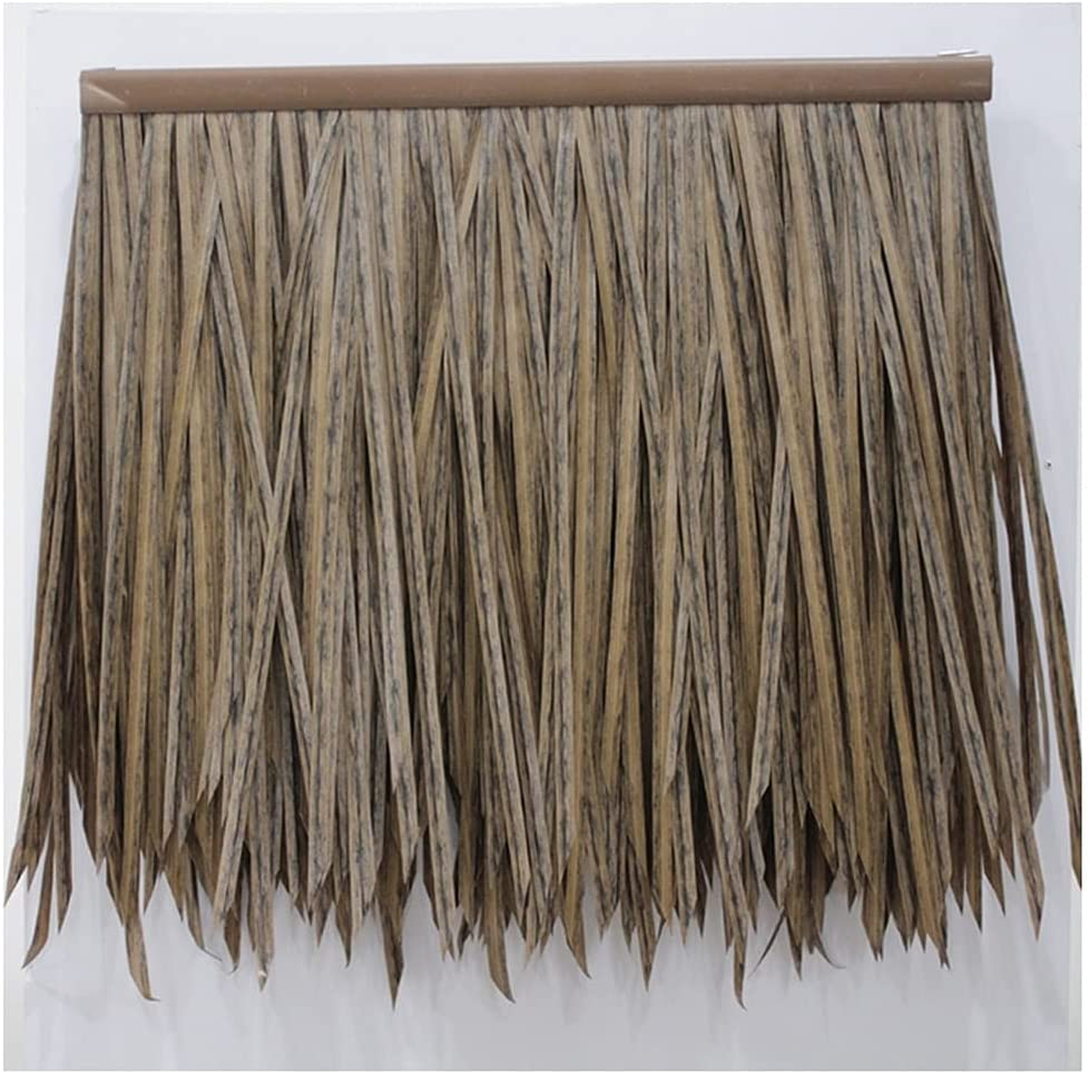 Fake Thatch Palm Roll Detroit Mall Max 82% OFF Man-Made Tile Simulation of
