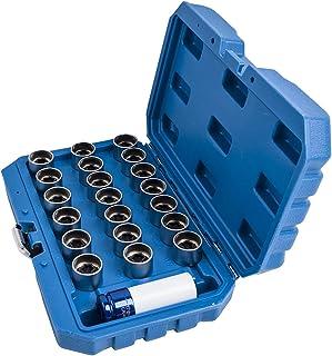 21 peças de chave de porca de roda de bloqueio mestre para veículos BMW