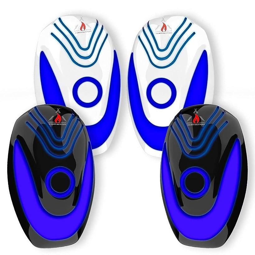 ELZU.US Repeller01 Pest Repeller, 4 Pack Premium Blue