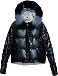 Womens Shorts Down Jacket Packable Hood Light Weight Parka Coat