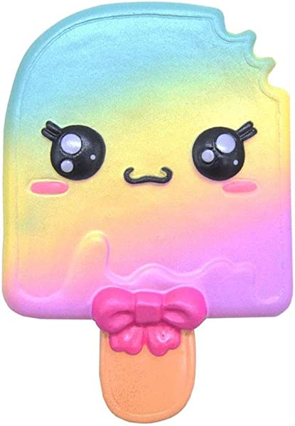 Drfoytg Clearance Squeeze Kawaii Squishy Ice Cream Decompression Cartoon Doll Stress Reliever Scented Slow Rising B