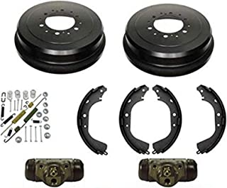 Power Stop Front /& Rear KOE15212DK Autospecialty Daily Driver Pad Rotor Drum and Shoe Kits