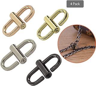 Adjustable Metal Buckle for Shoulder Chain Strap Women Bag Length Shorten Purse Chain Adjuster Metal Clip Accessories 4pcs