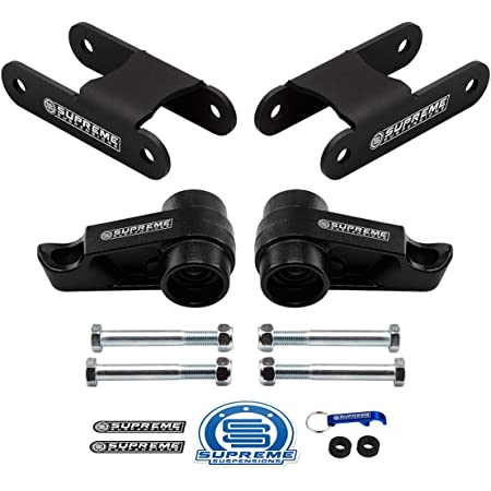2004-2012 Colorado Lift Kit 4WD Adjustable 1 to 3 Inch Front 2 Inch Rear BIG BRAWNS Torsion Bar Lift Keys and Lift Shackles