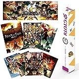 GTOTd Anime attack on titan Poster (8 PCS / 4-Serie)