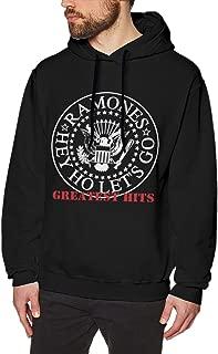 Men's Hooded Sweatshirt Ramones Greatest Hits Unique Original Style