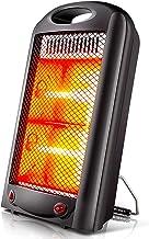 LQ&XL Calefactor Portátil,Mini Calefactor Electrico 600W Protección de Sobrecalentamiento,Viento Caliente o Natural Cerámica Calentador Rápido para Habitación, Oficina, Baño