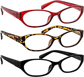 Fashion Muiti Pack Reading Glasses Men or Women Comfort Spring Hinges F502