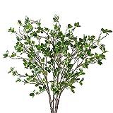 Htmeing Artificial Eucalytus Green...