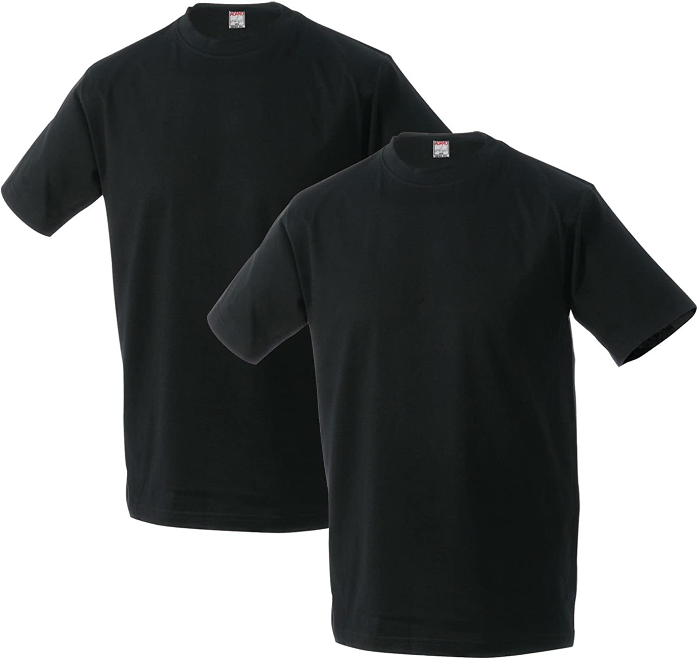 Adamo Paquete de 2 Camisetas Negras Oversize