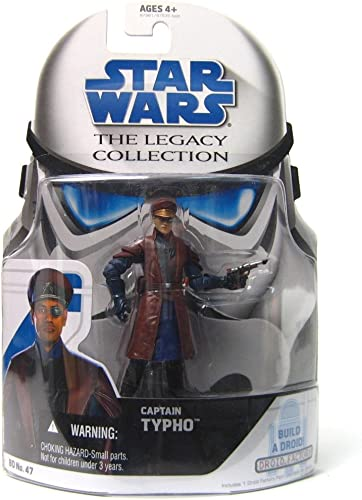 Star Wars Legacy Collection Build-A-Droid Factory Action Figure BD No. 47 Captain Typho