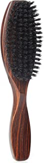 100% Wild Natural Boar Bristle Hair Brush With Wooden Handle for Men and Women's Thin, Fine Hair