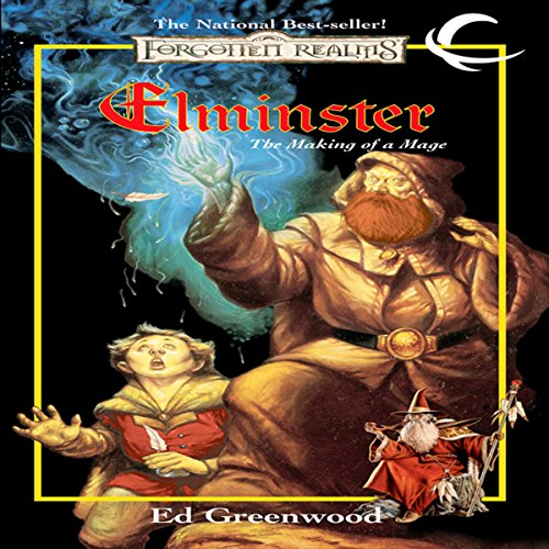 Elminster: The Making of a Mage audiobook cover art