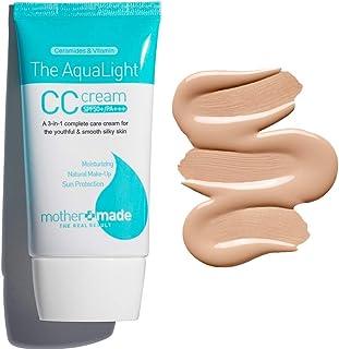 Sponsored Ad - MOTHER MADE The AquaLight CC Cream SPF 50+ UVA & UVB, Light to Medium Shade, Anti-Aging Tinted Sunscreen Mo...