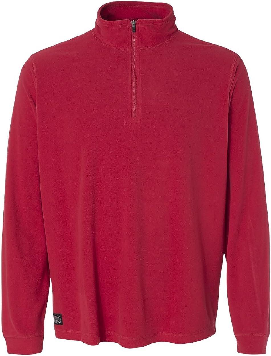 Dri-Duck Element 1/4-Zip Nano Fleece Pullover. 7396 - Medium - Red