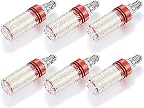 EMGQ Energiebesparende gloeilamp 20W E14 LED Candelabra Gloeilampen 200W Equivalent, 360 ° Bundel Hoek Hoge Helderheid Ene...