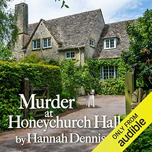 Murder at Honeychurch Hall audiobook cover art