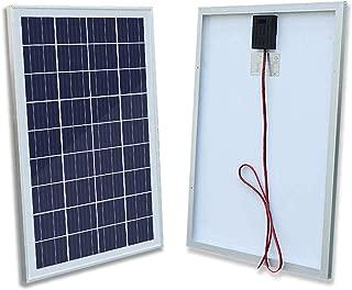 ECO-WORTHY 12V Solar Panel 25W Watt Module Off Grid Charging RV Boat