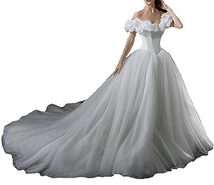 3366926acf6d Menglu Custom made Adult Gown Fancy Princess Cosplay Dress (10, White)