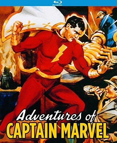 Top New Adventures of Captain Marvel (12 Chapter Serial) [Blu-ray]