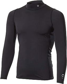 [シースリーフィット] インナーシャツ クーリングタートルネックロングスリーブ メンズ 接触冷感 吸汗速乾 UVカット