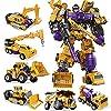 おもちゃの数字、 変形ロボット玩具ヘラクレス変形ロボットキングコング玩具コンビネーションロードエンジニアリング自動車子供の男の子のギフト
