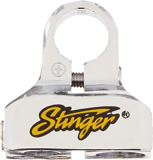 Stinger SPT53102 PRO Classic Battery Terminal with 8 Outputs Shoc-Krome