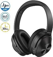 Mpow H12 Casque Bluetooth Reduction de Bruit,[Version 2019] Mode de réduction du Bruit Hybride, 30 Heures de Temps de Jeu, Microphone CVC 6.0 réducteur de Bruit, pour Téléphones/Tablettes/TV/PC