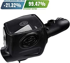 S&B Filters 75-5105D Cold Air Intake For 2008-2010 Ford Powerstroke 6.4L (Dry Extendable Filter)