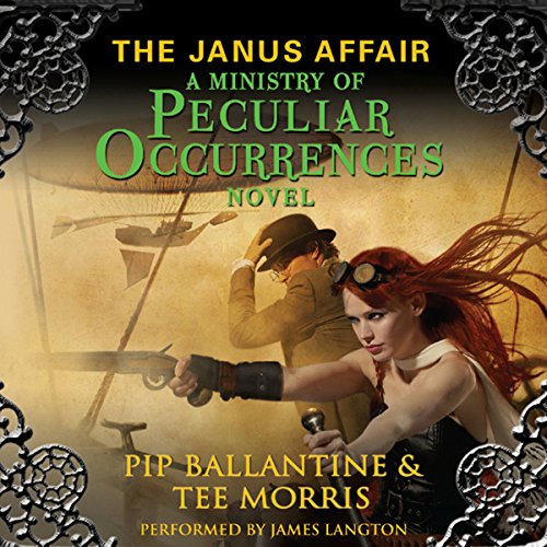 The Janus Affair audiobook cover art