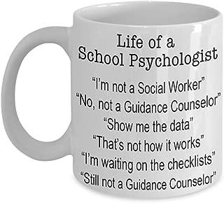 School Psychology Mug, Funny School Psychologist Gift Ideas Coffee Mug